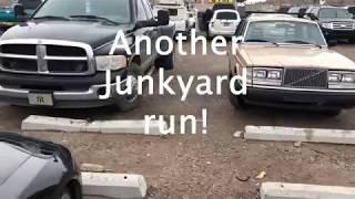 Volvo $240 Restoration: Bumper and junkyard run