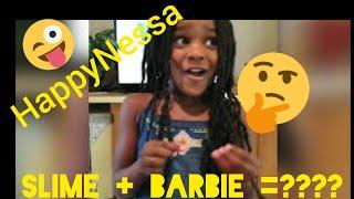 Lil London Loves Dr. Squish  Slime &amp Barbie Fun  HappyNessa Vlog  Kids Play