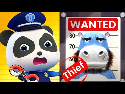 bayi-panda-ajaib-kiki-vs-penjahat- -kartun-anak- -bahasa-indonesia- -babybus