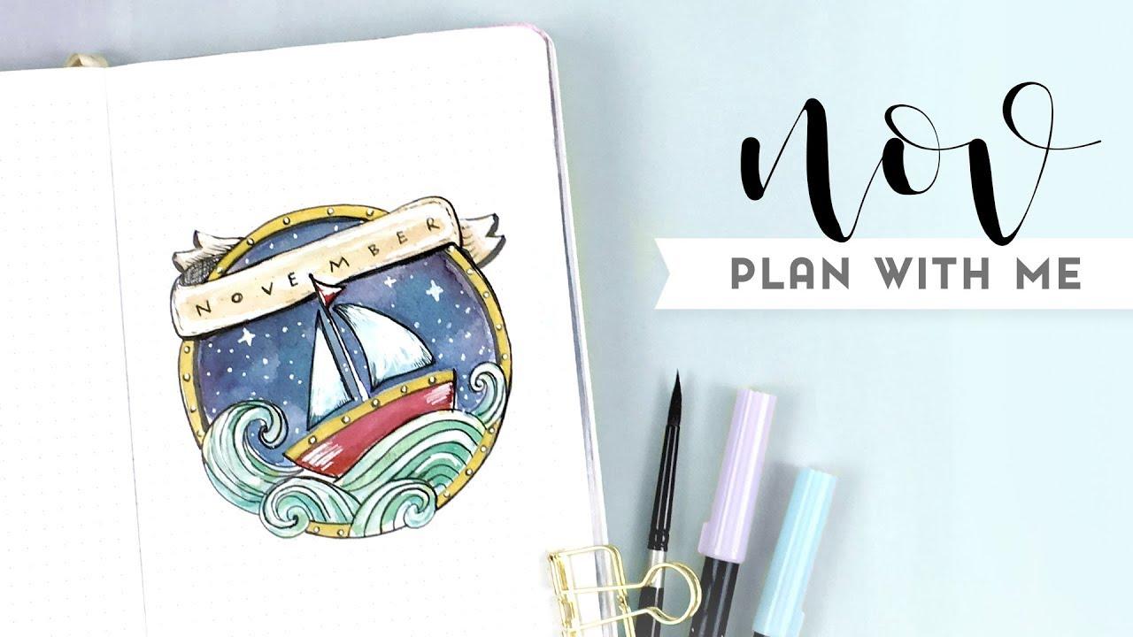 PLAN WITH ME: NOVEMBER BUJO