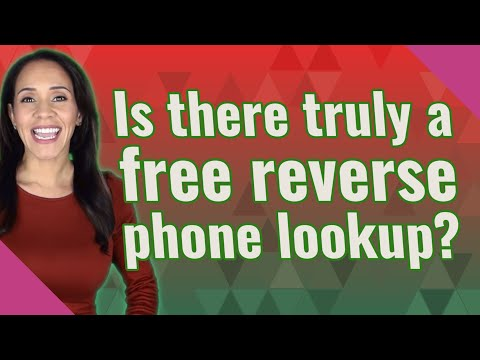 Is There Truly A Free Reverse Phone Lookup?