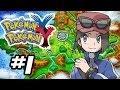 Pokemon X and Y Gameplay Walkthrough - Part 1 - GOTTA CATCH 'EM ALL!! (Pokemon Gameplay 3DS HD)