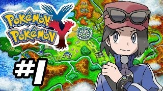 Pokemon X and Y Gameplay Walkthrough - Part 1 - GOTTA CATCH