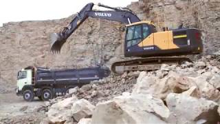 Volvo EC220E Crawler Excavator promotional video