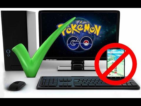 Pokemon GO - Как играть в Pokemon GO с ПК ?! Как быстро поймать всех покемонов в покемон го ?!