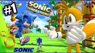 Sonic Buscando a sus Amigos | Sonic Generations Capitulo 1 | Juegos Karim Juega
