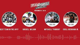 SPEAK FOR YOURSELF Audio Podcast (11.04.19)with Marcellus Wiley, Jason Whitlock | SPEAK FOR YOURSELF