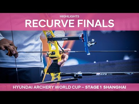 Recurve highlights [ENGLISH] | Shanghai 2018 Hyundai Archery