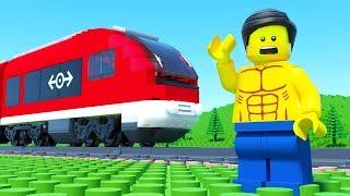 LEGO Train Gym Fail