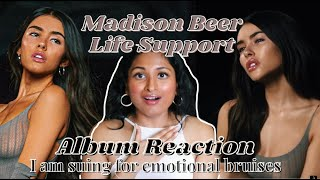 """#madisonbeer #lifesupport #albumreaction literally waited years formadison beer to release life support, yes years... ever since madison released """"as sh..."""