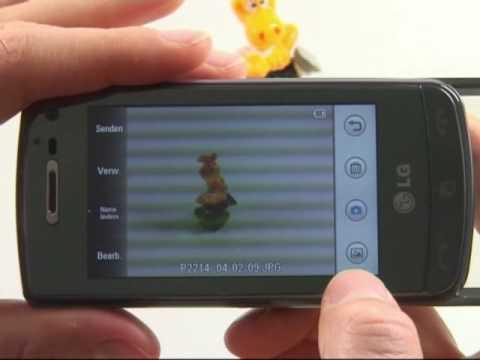 LG GD900 Crystal Test Kamera