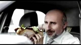 Stupid Blonde Driver - Car Crash.flv