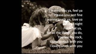 Beyoncé - You are my rock (lyrics)