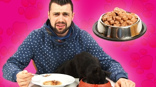 Cat Owners Try Cat Food