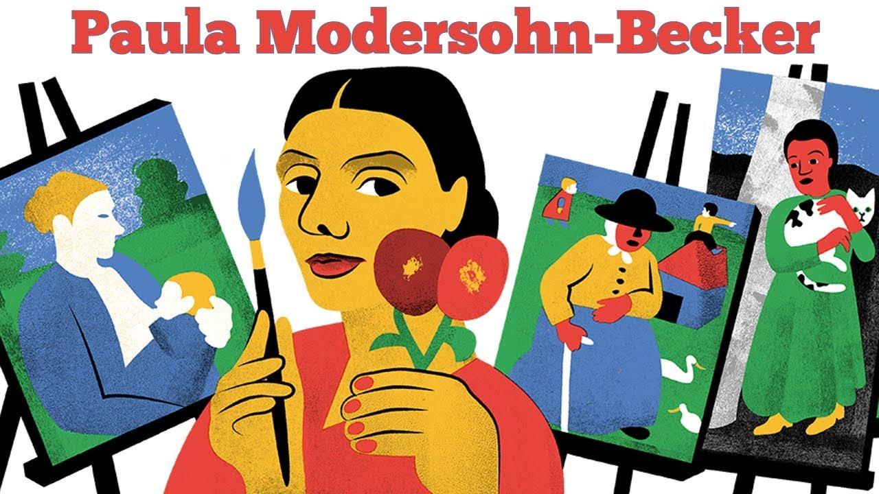 Paula Modersohn Becker Google Doodle