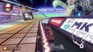 Rainbow Road [150cc] - 2:00.444 - 。(Mario Kart 8 Deluxe World Record)
