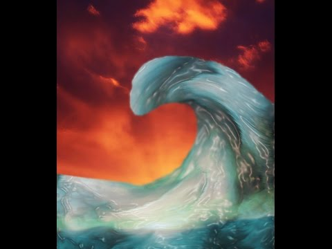 Волшебная волна в фотошопе / Magic Wave In Adobe Photoshop CS5