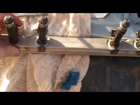 Чистка форсунок на ваз 2115 своими руками видео