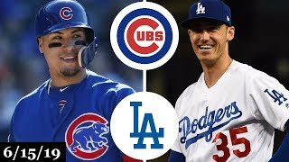 Chicago Cubs Vs Los Angeles Dodgers - Full Game Highlights | June 15, 2019 | 201