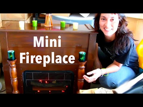 ➤➤➤CUTEST MINI FIREPLACE ```DIY Recycle Curb Stuff```