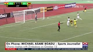 Ghana in a must-win situation as they clash with Zimbabwe in Harare - The Pulse Sports 11-10-21