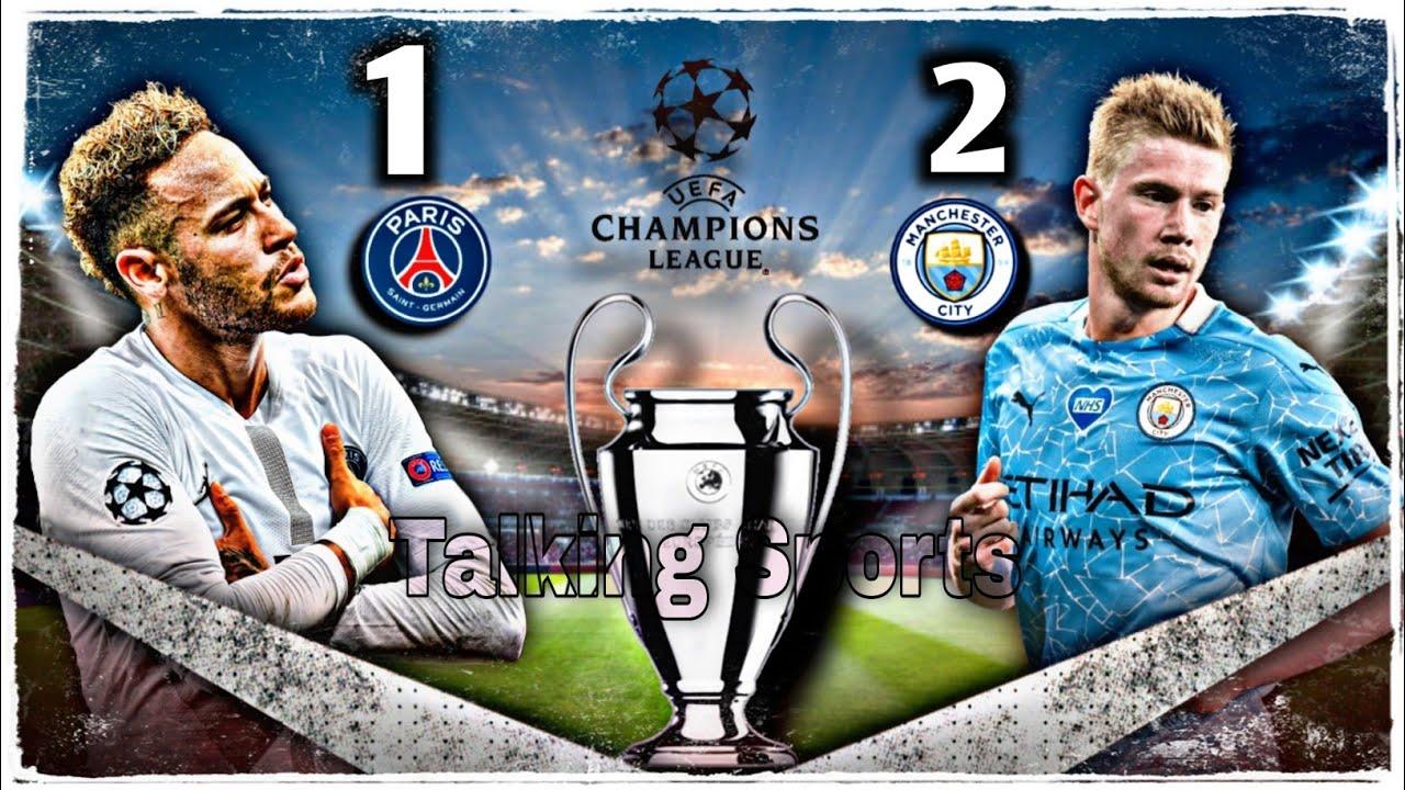 Manchester City VS Paris Saint-Germain Semi Final Leg 2 Of UEFA Champions League 20/21 - Reports