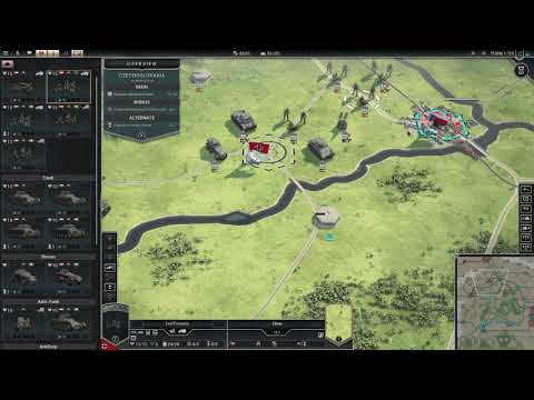 Panzer Corps 2 Axis Operations 1939 Gameplay (PC Game)  