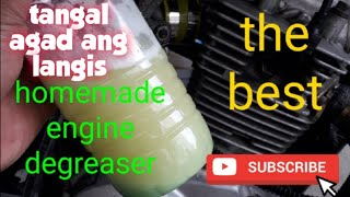 how to make diy engine degreaser cleaner for your motorcycle and car(tagalog)