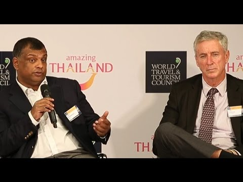 Aviation - AirAsia and Emirates at WTTC Global Summit 2017 in Bangkok - HD