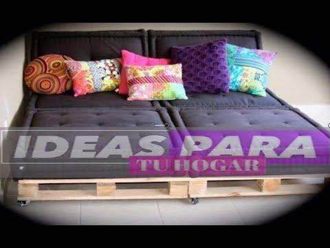 Construye tu cama muy f cil 25 ideas para construir for Base de cama hecha con tarimas
