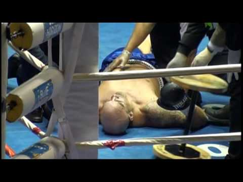 Jason Barnett Boxer J  KO brutal ko ktfo