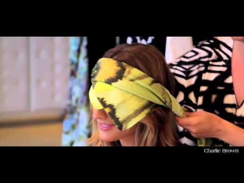 Charlie Brown Headscarf Video Feat Laura Dundovic