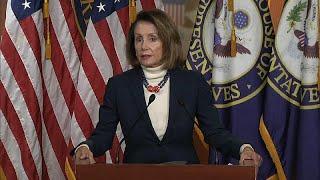 Usa: shutdown, Trump cancella viaggio di Nancy Pelosi