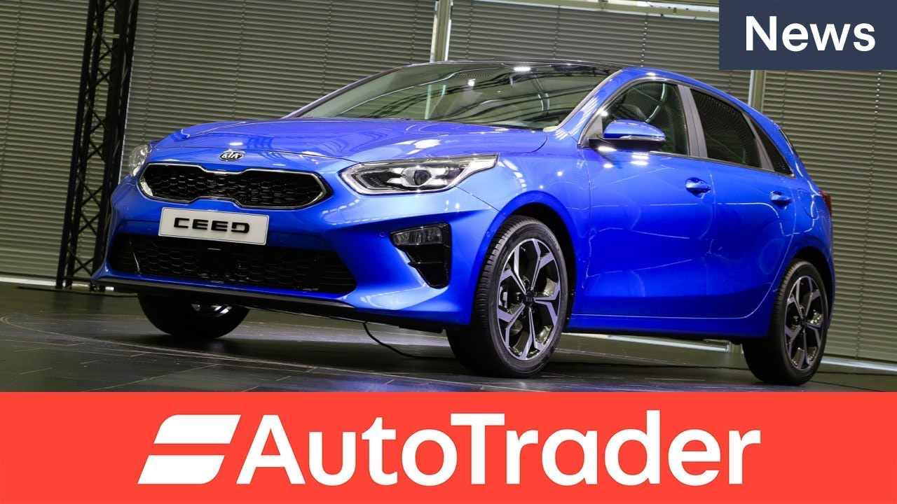 Exclusive look at the new Kia Ceed, rival to the Focus, Astra, and Golf - Dauer: 93 Sekunden