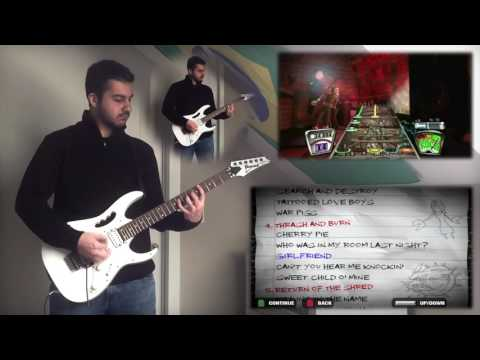 ALL GUITAR HERO 2 SONGS ON A REAL GUITAR