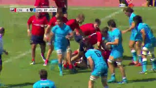 Chile's big tackle and masterful interception - Americas Rugby Championship