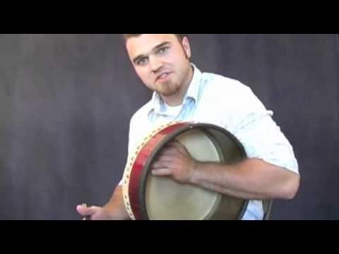 Bodhrán Lessons - Tone Hand Basics by Chris Weddle