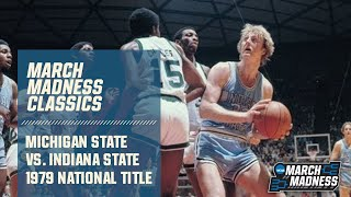 1979 National Championship game: Michigan State vs Indiana State (Full game)