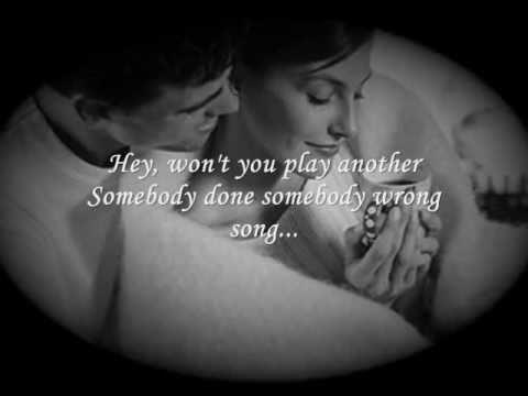 Somebody Done Somebody Wrong Song (onscreen lyrics) by B.J. Thomas