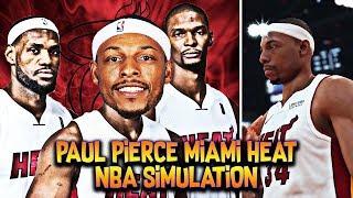 1f6d952b59f1 Simulating Paul Pierce NBA Career On The Miami Heat (Replacing Dwayne Wade)