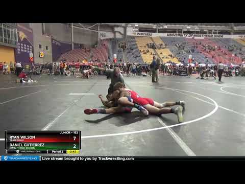 Junior 152 Daniel Gutierrez Dwight High School Vs Ryan Wilson Team Idaho
