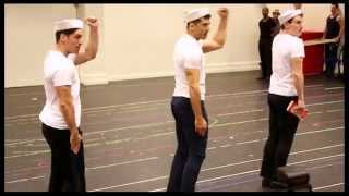 "Watch a Helluva Cast in Rehearsal! See the Stars of ""On the Town"""