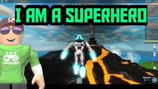 Roblox Mad City Superhero Gameplay Just messing around