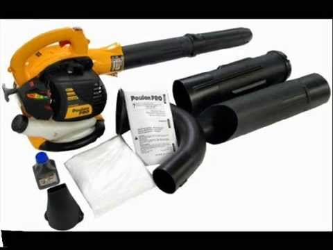 Blower Vacuum Poulan Pro Bvm200vs 25cc Gas Powered Youtube