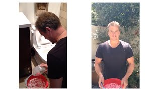Matt Damon Takes the ALSA Ice Bucket Challenge!