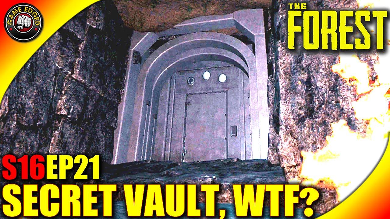 The forest gameplay secret vault found wtf let 39 s for Vault of secrets