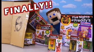 FNAF McFarlane Toys Series 5 Unboxing!! THEY'RE HERE!!