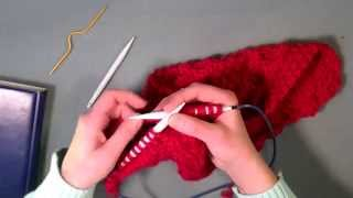 Knitting beginner cable tips and tutorial