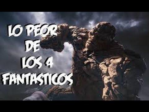 Lo Peor de Los 4 Fantasticos - Escenas Ridculas.