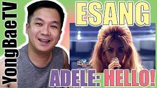 Your Face Sounds Familiar Kids 2018: Esang De Torres as Adele | Hello | Reaction | YongBaeTV